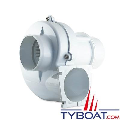 Albin Pump Marine - Ventilateur 280 - 12 Volts - 4,7m3/minute - Montage sur cloison - 10-02-001