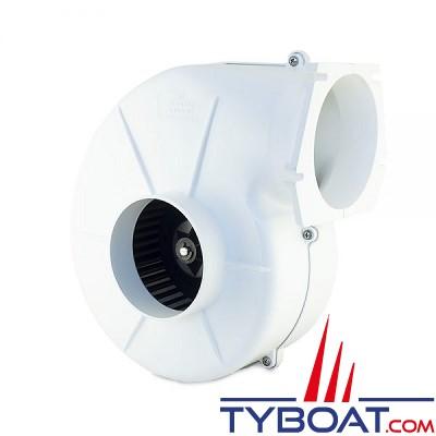 Albin Pump Marine - Ventilateur 500 - 12 Volts - 5,9m³/minute - Montage sur cloison - 10-02-003