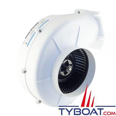 Albin Pump Marine - Ventilateur 750 - 12 Volts - 6,69m³/minute - Montage sur cloison - 10-02-005