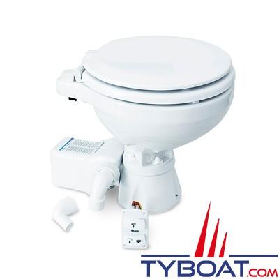 Albin Pump Marine - WC marin électrique Compact silencieux - 12 Volts - 07-03-010
