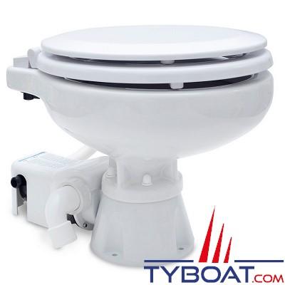 Albin Pump Marine - WC marin électrique Standard EVO Compact Bas - 12 Volts - 07-02-008