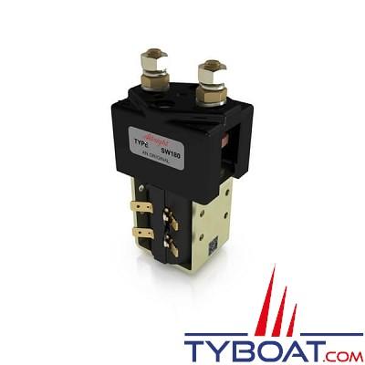 Albright - Relais unipolaire SW180 24 Volts 150 Ampères  1 contact à fermeture
