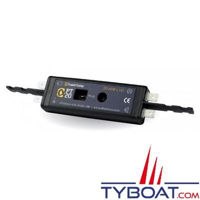 Alfatronix - Protection batterie tension basse  -12/24 Volts - 20 Ampères