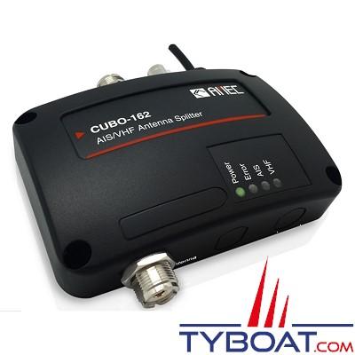 Amec - Splitter d'antenne Cubo-162 pour VHF/AIS sans perte