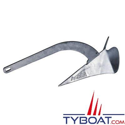 Ancre Plastimo Kobra I à verge basculante 6 Kg