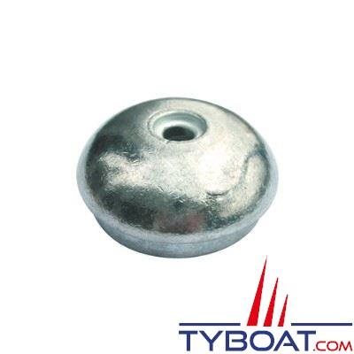 Anode de remplacement pour propulseurs d'étrave Side Power SE60/SE80/SE100/SR80/SR100/SX80/SX100/SP55/75//95/100HYD