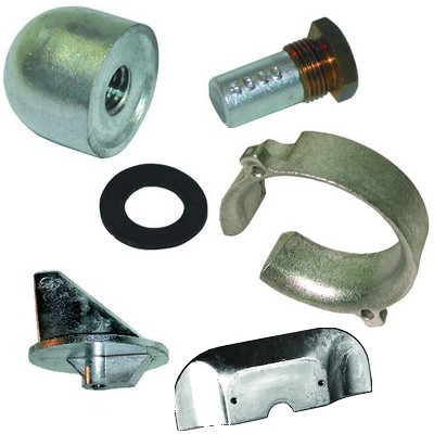Anodes Mercury - Mariner - Mercruiser