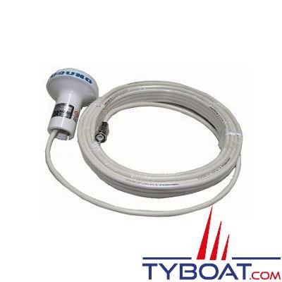 Antenne GPS Furuno GPA-017 pour GP30 / GP32 / GP1650 / GP7000(F) avec câble 10 mètres