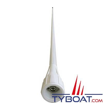 Banten - Antenne VHF VR150 série FASTFIT - 3 dB - Longueur 1,40 m - Fibre de verre