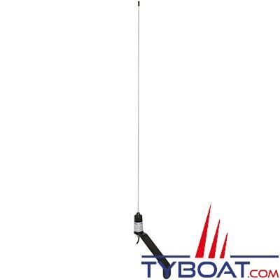 Antenne VHF V-TRONIX MD20 fouet inox pour voilier 3db  hauteur 0,90m avec câble 20 mètres