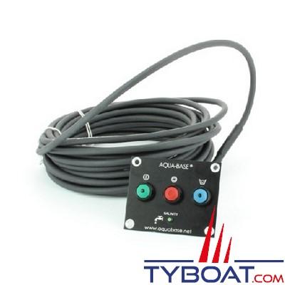 Aqua-Base - Commande à distance pour dessalinisateurs Aqua-Base séries X / Y / ES - câble longueur 10 mètres