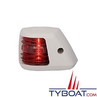 Aqua Signal - Feu bâbord 112,5° - Série 20 - Blanc - Pour bateaux inférieurs à 12 mètres