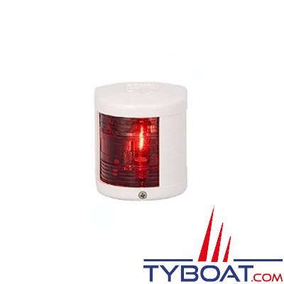 Aqua Signal - Feu bâbord 112,5°- Série 25 standard - Blanc - Pour bateaux inférieurs à 12 mètres