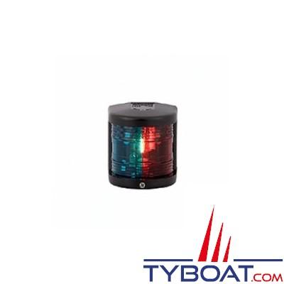 Aqua Signal - Feu bicolore vert/rouge 112,5° - Série 25 standard - Pour bateaux inférieurs à 12 mètres