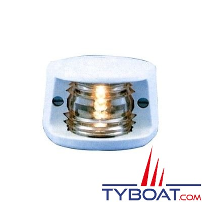 Aqua Signal - Feu de poupe blanc 135° - Série 20 - Pour bateaux inférieurs à 12 mètres