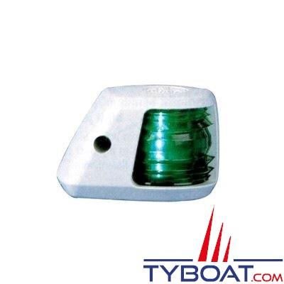 Aqua Signal - Feu tribord 112,5° - Série 20 - Blanc - Pour bateaux inférieurs à 12 mètres