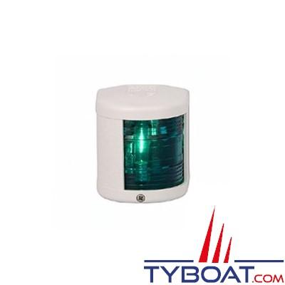 Aqua Signal - Feu tribord 112,5° - Série 25 standard - Blanc - Pour bateaux inférieurs à 12 mètres
