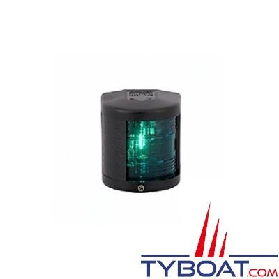 Aqua Signal - Feu tribord 112,5° - Série 25 standard - Noir - Pour bateaux inférieurs à 12 mètres