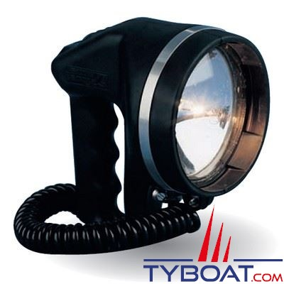 Aqua Signal - Projecteur de recherche 100% étanche et flottant 12 Volts 50 Watts halogène