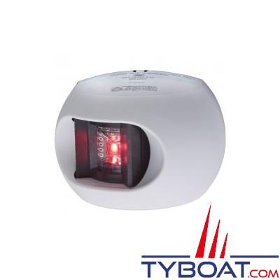 Aqua Signal - série 34 - Feu bâbord LED blanc 12/24 volts 112,5°