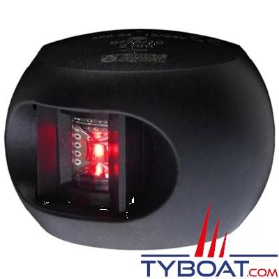 Aqua Signal - série 34 - Feu bâbord LED noir 12/24 volts 112,5°