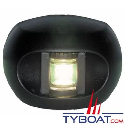 Aqua Signal - série 34 - Feu de poupe LED noir 12/24 volts 135°