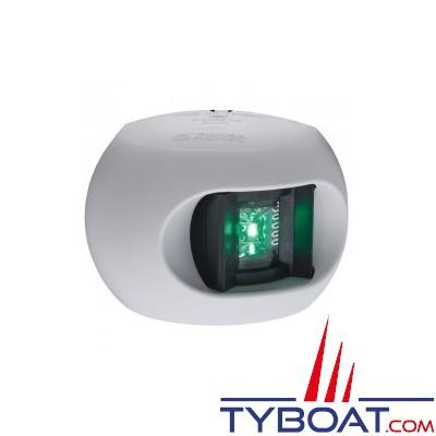 Aqua Signal - série 34 - Feu tribord LED blanc 12/24 volts 112,5°
