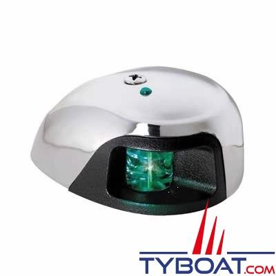 Attwood - Feu de navigation tribord - LED - Portée 2 MN