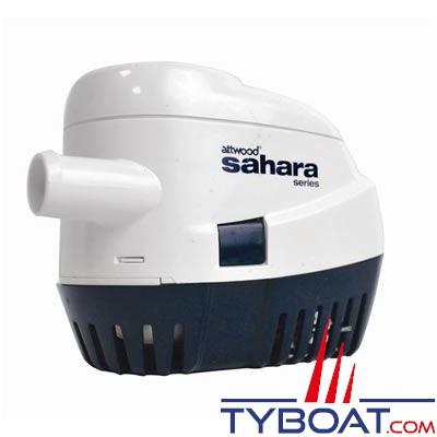 Attwood - Pompe de cale automatique Sahara S1100 - 70 Litres/minute - 24 Volts