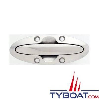 Attwood - Taquet retractable 11cm - inox - fixation par le dessus