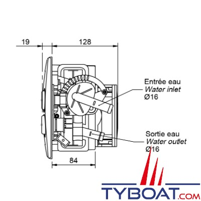 Autoterm - Aérotherme ARIZONA LN - Puissance 2,7kW - 12 Volts - 1 Vitesse