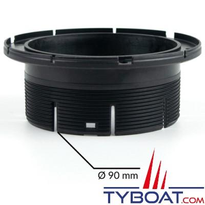 Autoterm - Bague d'adaptation sortie d'air pour tuyau Ø 90 mm