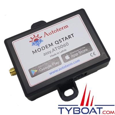 Autoterm - Modem QSTART 4G LTE  pour chauffage Autoterm (12 et 24 Volts)