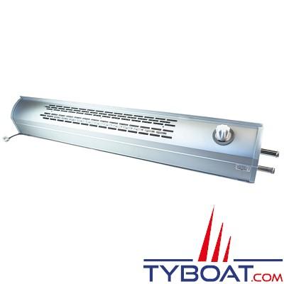 Autoterm - Radiateur à eau - Puissance 1,4kW - Longueur 1 mètre - Avec ventillateur 12 Volts