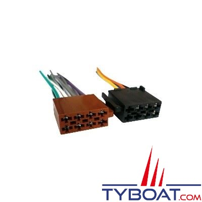 kit connecteur iso pour autoradio tyboat ar056 tyboat com. Black Bedroom Furniture Sets. Home Design Ideas