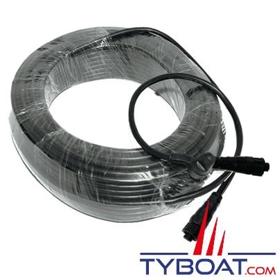 B&G - Câble WS300 pour girouette/anémomètre série WS700 - Longueur 20 mètres
