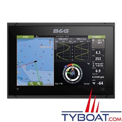 B&G - Multifonctions VULCAN 12R - écran tactile multipoint - avec GPS 10 Hz intégré