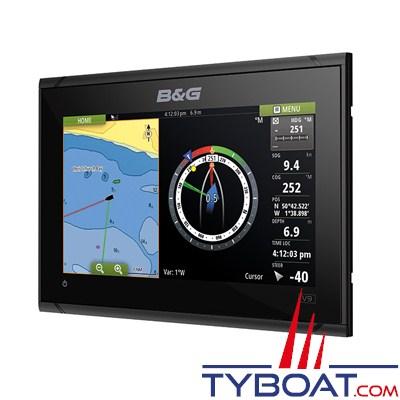 B&G - Multifonctions VULCAN 9R - écran tactile multipoint - avec GPS 10 Hz intégré