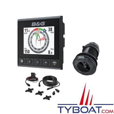 B&G - Pack Afficheur digital Triton² - NMEA2000 + sonde trifonctions Airmar DST800 + kit création réseau NMEA2000