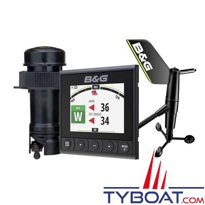 B&G - Pack afficheur digital Triton² + sonde trifonctions Airmar DST800 + aérien WS310 + kit création réseau NMEA2000