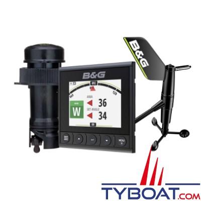 B&G - Pack afficheur digital Triton² + sonde trifonctions DST810 + aérien WS310 filaire (20 mètres) + kit création réseau NMEA2000