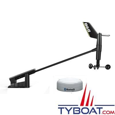 B&G - Pack afficheur digital Triton² + sonde trifonctions DST810 + aérien WS320 sans fil + kit création réseau NMEA2000