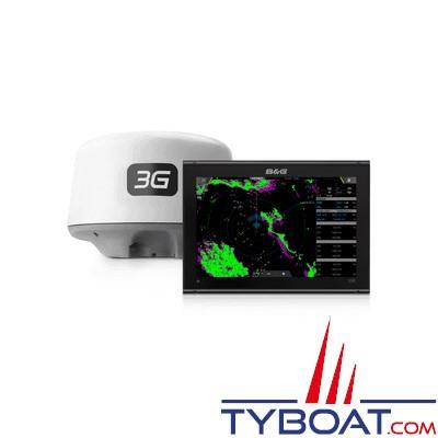 B&G - Pack Multifonctions VULCAN 12R avec antenne radar 3G - écran tactile multipoint - avec GPS 10 Hz intégré