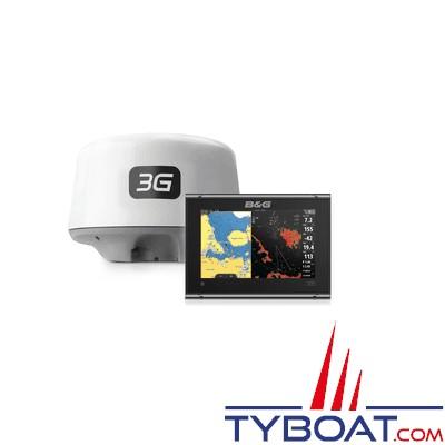 B&G - PACK Multifonctions VULCAN 7R avec Radar BroadBand 3G- Traceur de carte et écran radar - Tactile multipoint