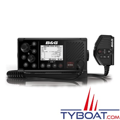 B&G - VHF marine V60-B DSC classe D avec transpondeur AIS et GPS intégrés - NMEA0183/2000