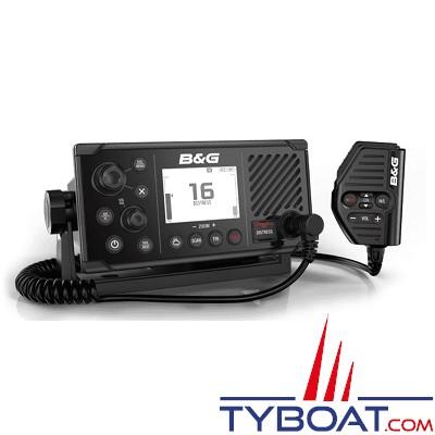 B&G - VHF marine V60 DSC classe D avec récepteurs AIS et GPS intégrés et prise en charge de combinés sans fil