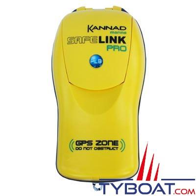 Balise de détresse individuelle Kannad Safelink PRO 406 MHz avec GPS
