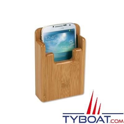 Bamboo Marine - Support smartphone - 130 x 75 x 21mm