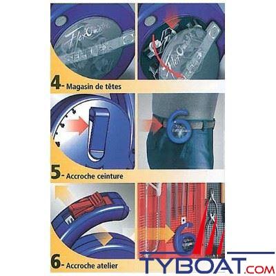 Bande collier Serflex flexomètre inox w4 largeur 13 mm longueur 3m