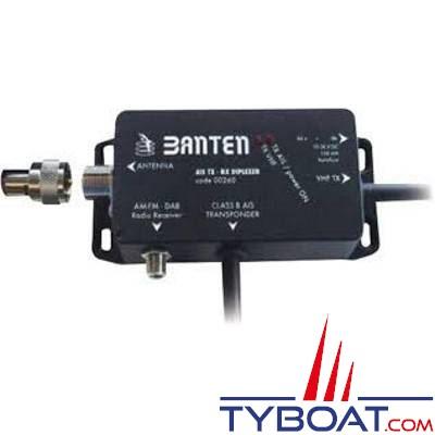 Banten - Splitter d'antenne pour VHF/radio AM-FM/ transpondeur AIS